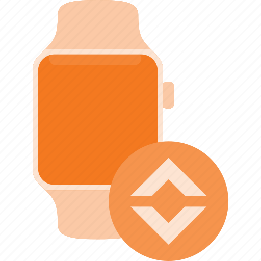 bandwidth, concept, smart, smartwatch, technology, watch icon