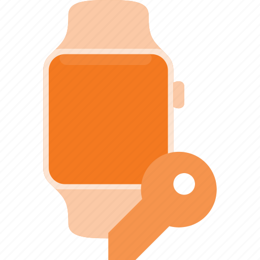 concept, key, smart, smartwatch, technology, watch icon