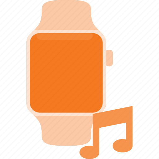 concept, music, smart, smartwatch, technology, watch icon