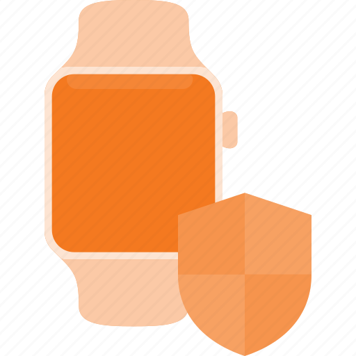 concept, protect, smart, smartwatch, technology, watch icon