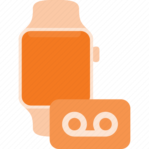 concept, record, smart, smartwatch, sound, technology, watch icon