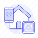 assistant, automation, connection, control, devices, domotics, home, iot, phone, smart