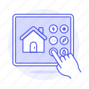 automation, control, controler, devices, domotics, hand, home, iot, panel, smart, switch, tablet
