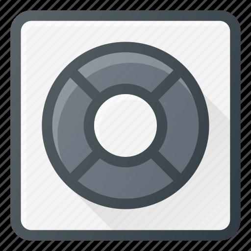 ipod, mp3, music, player, shuffle icon
