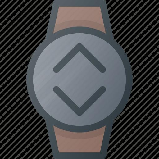 bandwidth, concept, smart, smartwatch, technology, watch icon
