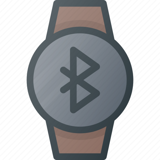 bluetooth, concept, smart, smartwatch, technology, watch icon