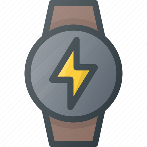 charge, concept, smart, smartwatch, technology, watch icon