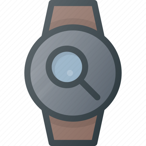 concept, search, smart, smartwatch, technology, watch icon