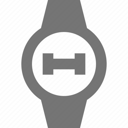 circle, dumbell, fitness, smart watch, watch, weight icon