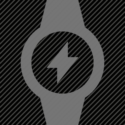 flash, smart watch, watch icon