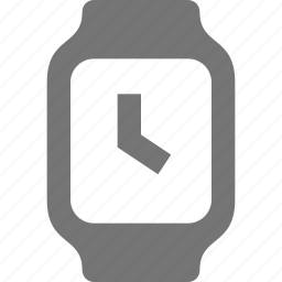 smart watch, square, watch icon