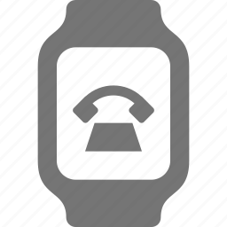 call, phone, smart watch, telephone, watch icon