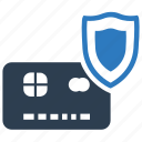 credit card, protection, secure, secure payment, security icon
