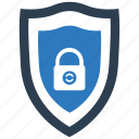 business protection, insurance, secure, security, shield icon