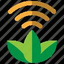 plant, green, eco, internet, iot, leaf, sensor