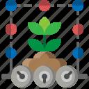 smart, plant, farm, technology, agriculture, information, care