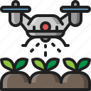 drone, ai, smart, farm, fertilizer, agriculture, watering