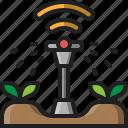 sprinkler, watering, irrigation, gardening, farm, wireless, spray