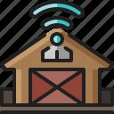 warehouse, storehouse, shipping, stock, storage, wifi, wireless