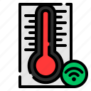 smart home, smart, internet of things, device, temperature, thermometer, technology