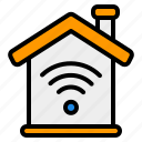 smart, home, house, building, network, connection, communication