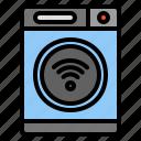 smart, washing, machine, wash, clothing, laundry, household