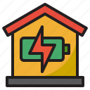 smarthome, home, power, charge, battery