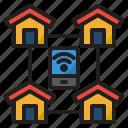 smarthome, network, wifi, home, mobilephone