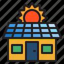 solar, cell, smarthome, home, house, sun