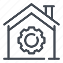 home, house, options, preferences, settings, smart icon