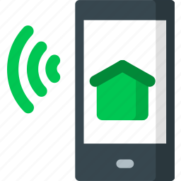 device, home, house, mobile, phone, smart, smartphone icon
