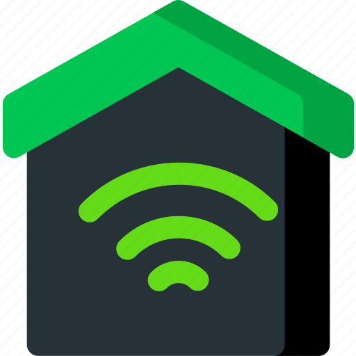 connection, home, house, smart, wifi, wireless icon