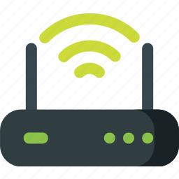 device, internet, modem, network, router, wireless icon