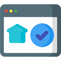 home, page, panel, safebox, security, smart icon