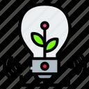 battery, ecology, electric, energy, idea, light, power