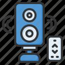 speaker, audio, sound, loudspeaker