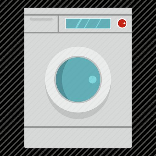 door, front, laundry, load, washer, washing, washing machine icon