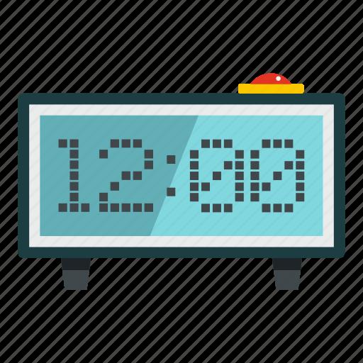 alarm, alarm clock, countdown, digital, display, electronic, hour icon