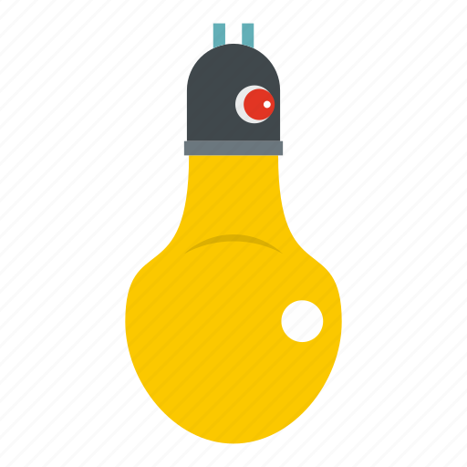 bulb, colour, idea, lamp, light, think, tip icon
