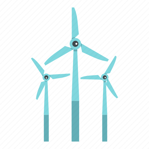 Ecology, energy, power, renewable, turbine, wind, windmill icon - Download on Iconfinder
