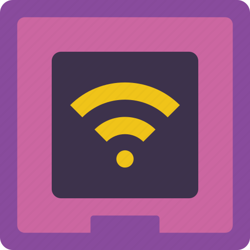 home, smart, switch, wifi icon