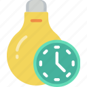 home, lighting, smart, timers icon