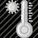 home, hot, smart, temperature icon