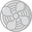 fan, home, smart icon