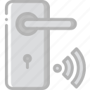 handle, home, smart, wifi icon