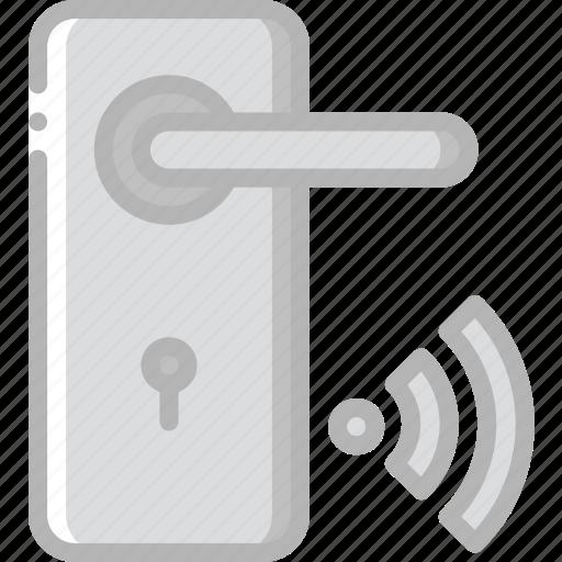handle, home, smart, wifi icon