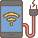 app, home, mobile, power, smart icon