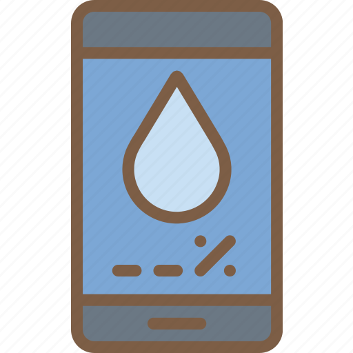 app, home, smart, usage, water icon