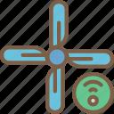 air, con, home, smart, wifi icon