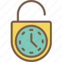 home, locking, smart, timers icon